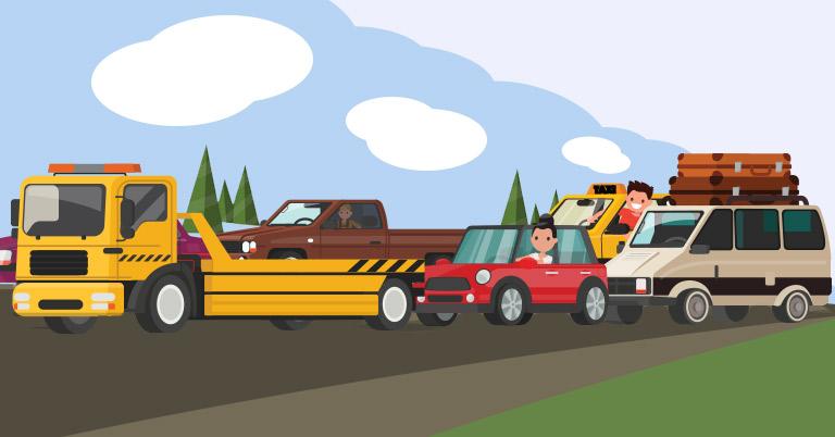 Image de trafic routier